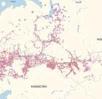 Зона покрытия мтс в самарской области 4g