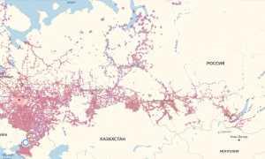 Зона покрытия мтс ставропольский край карта