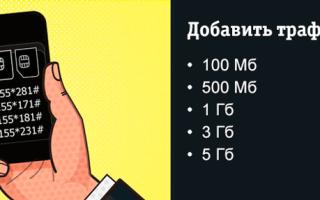 Как подключить гигабайты на теле2 на телефон