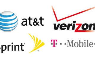 Какие операторы связи в америке