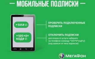 Как отключить развлекательные услуги на мегафоне